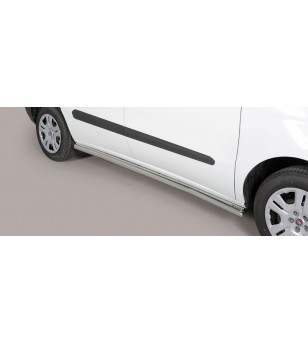 Doblò Side Protections Inox - TPS/329/IX - Bullbar / Lightbar / Bumperbar - Unspecified - Verstralershop