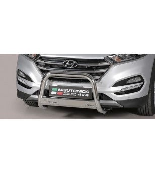 Tucson EC Approved Medium Bar Mark Inox - EC/MED/K/391/IX - Bullbar / Lightbar / Bumperbar - Unspecified