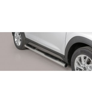 Tucson Grand Pedana (Side Bars with steps) Inox - GP/391/IX - Bullbar / Lightbar / Bumperbar - Unspecified