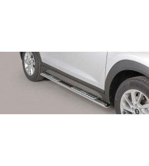 Tucson Design Side Protections Inox - DSP/391/IX - Sidebar / Sidestep - Unspecified