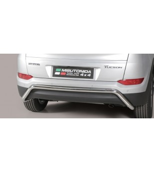 Tucson Rear Protection Inox - PP1/391/IX - Rearbar / Opstap - Unspecified