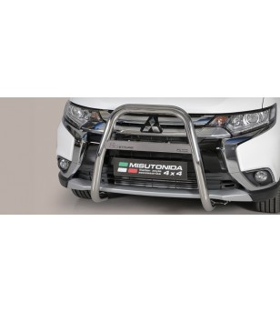 Outlander High Medium Bar Mark Inox - MA/K/392/IX - Bullbar / Lightbar / Bumperbar - Unspecified