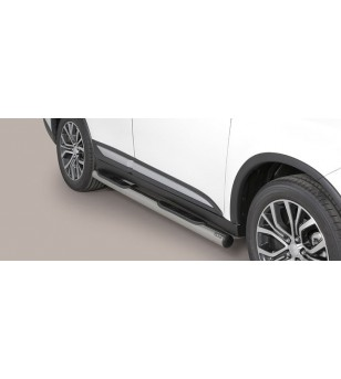 Outlander Grand Pedana (Side Bars with steps) Inox