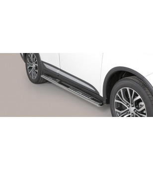 Outlander Design Side Protections Inox - DSP/341/IX - Sidebar / Sidestep - Unspecified