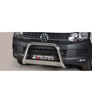 T6 EC Approved Medium Bar Inox - EC/MED/396/IX - Bullbar / Lightbar / Bumperbar - Verstralershop