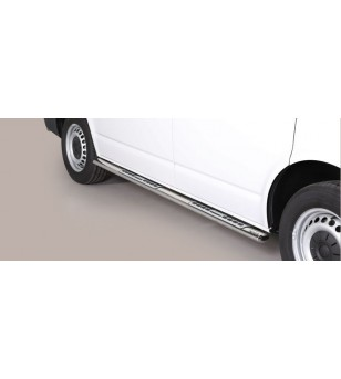 T6 Design Side Protections Inox SWB Version - DSP/396/SWB - Sidebar / Sidestep - Unspecified
