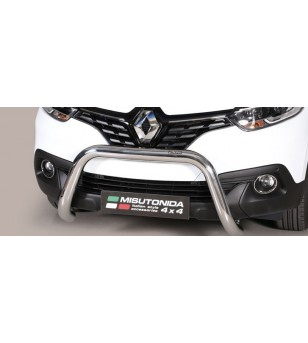 Kadjar, EC Approved Super Bar Inox - EC/SB/397/IX - Bullbar / Lightbar / Bumperbar - Unspecified