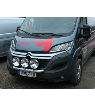 Citroën Jumper 2015- Q-Light/3 lightbar - Q900292 - Bullbar / Lightbar / Bumperbar - Verstralershop