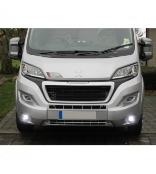 Citroën Jumper 2014- Day Time Running Light Kit Round - LR007/LV007 - Verlichting - Unspecified