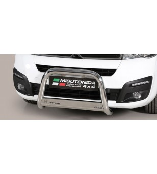 Berlingo 15- EC Approved Medium Bar Inox - EC/MED/399/IX - Bullbar / Lightbar / Bumperbar - Unspecified