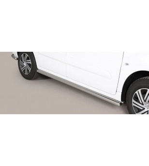 Berlingo 15- Design Side Protections Inox - TPS/230/IX - Sidebar / Sidestep - Unspecified