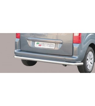 Berlingo 15- Rear Protection Inox - PP1/230/IX - Rearbar / Rearstep - Unspecified
