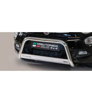 Fiat 500x EC Approved Medium Bar Inox - EC/MED/393/IX - Bullbar / Lightbar / Bumperbar - Unspecified