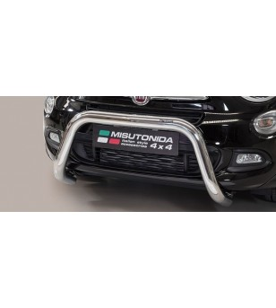 Fiat 500 X EC Approved Super Bar Inox - EC/SB/393/IX - Bullbar / Lightbar / Bumperbar - Unspecified