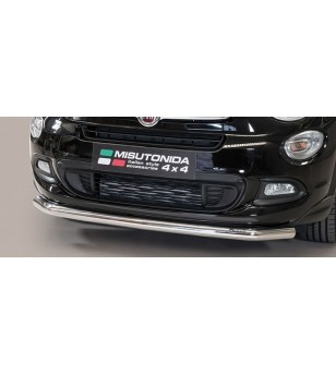 Fiat 500 X Large Bar inox - LARGE/393/IX - Bullbar / Lightbar / Bumperbar - Unspecified