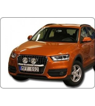 Audi Q3 13- Q-Light/2 - Q900244 - Bullbar / Lightbar / Bumperbar - QPAX Q-Light - Verstralershop