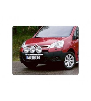 Berlingo 13- Q-Light/3 - Q900232 - Bullbar / Lightbar / Bumperbar - QPAX Q-Light
