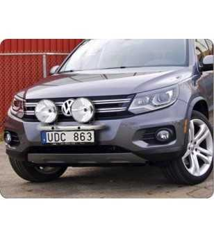 Tiguan 12- Q-Light/2 - Q900223 - Bullbar / Lightbar / Bumperbar - QPAX Q-Light - Verstralershop
