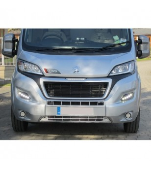 Peugeot Boxer 2014- Day Time Running Light Kit POD DRL LED Black - LP-X290B - Verlichting - Unspecified