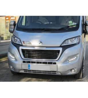 Peugeot Boxer 2014- Day Time Running Light Kit POD DRL LED Silver - LP-X290S - Verlichting - Unspecified