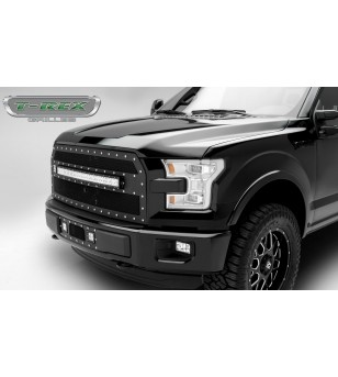 "F-150 15- Grille - 30"" Curved LED Lightbar - 6315741 - Grille - T-Rex Torch"
