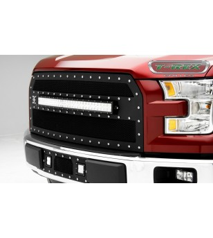 "F-150 15- Grille - 30"" Curved LED Lightbar - 6315731 - Grille - T-Rex Torch"
