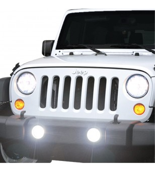 PIAA Jeep Wrangler JK 2010-2016 Fog Light Mounting Brackets