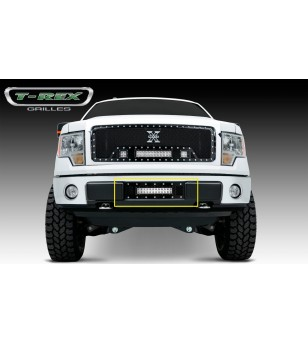 "F-150 15- Bumper Grille - 2x 3"" LED Light Pods"