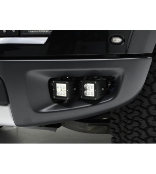 "Ford F150 SVT Raptor 10-14, TORCH TECH LED bolt-on Light Brackets 4 - 3"" LED Bars"