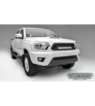 """Tacoma 12-15 TORCH Series LED Lights, 2 - 3"""" LED Bar - 6399381 - Grille - T-Rex Torch Tech LED"""