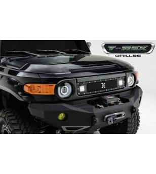 "FJ Cruiser 07-15 Grille - 2x 3"" LED Light Cube"