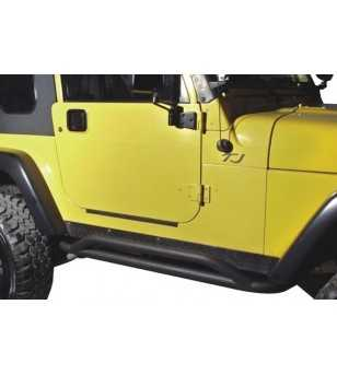 Jeep Wrangler JK 2dr 2007-2012 Rock Crawler Rocker Guards - J006 - Overige accessoires - Unspecified - Verstralershop