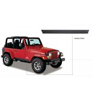 Jeep Wrangler Tj 1997-2006 Trail Armor Rocker Panels - 14002 - Other accessories - Unspecified