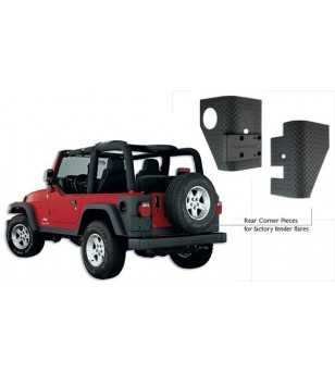 Jeep Wrangler Tj 1997-2006 Trail Armor Rear Corners - 14004 - Overige accessoires - Unspecified