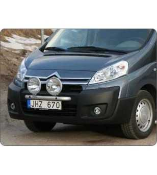 Jumpy 07- Q-Light/2 - Q900041 - Bullbar / Lightbar / Bumperbar - Verstralershop