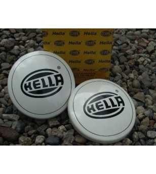 Hella 1000FF Rallye beschermkap wit bedrukt - 8XS 154 186-001 - Other accessories - Hella Protection Covers