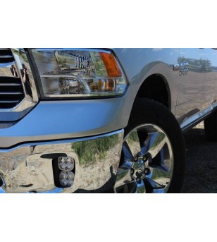 Dodge Ram 1500 13-19 Baja Designs Fog Pocket Mount Kit - 448306 - Other accessories - Verstralershop