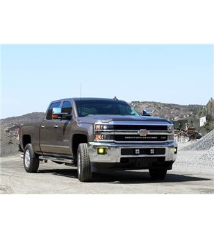Chevrolet 2500/3500 HD 15-17 - Baja Designs Fog Pocket Mount Kit