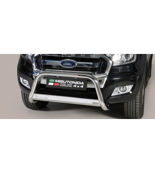 Ranger D.C. 16- EC Approved Medium Bar Inox - EC/MED/295/IX - Bullbar / Lightbar / Bumperbar - Unspecified