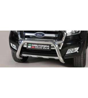 Ranger D.C. 16- EC Approved Super Bar Inox - EC/SB/295/IX - Bullbar / Lightbar / Bumperbar - Unspecified