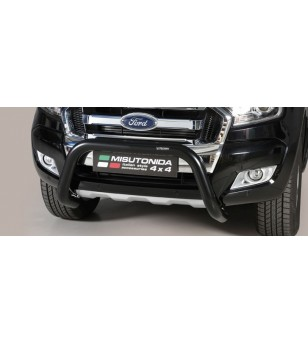 Ranger D.C. 16- EC Approved Super Bar Inox Black Coated - EC/SB/295/PL - Bullbar / Lightbar / Bumperbar - Unspecified