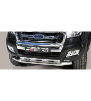 Ranger D.C. 16- Slash Bar Inox - SLF/295/IX - Bullbar / Lightbar / Bumperbar - Unspecified