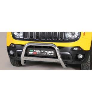 Renegade Trailhawk 14- EC Approved Medium Bar Inox - EC/MED/398/IX - Bullbar / Lightbar / Bumperbar - Verstralershop