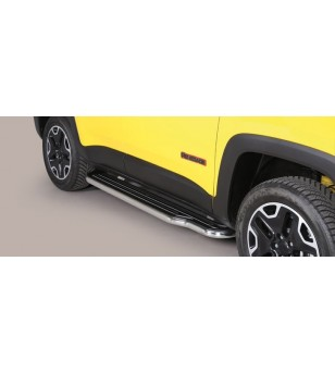 Renegade Trailhawk 14- Sidesteps Inox  - P/376/IX - Sidebar / Sidestep - Unspecified