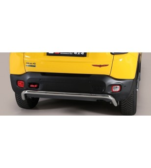 Renegade Trailhawk 14- Rear Protection Inox - PP1/376/IX - Rearbar / Opstap - Unspecified