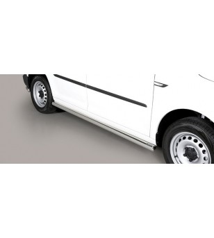 Caddy 15- Design Side Protections Inox - TPS/235/IX - Sidebar / Sidestep - Verstralershop