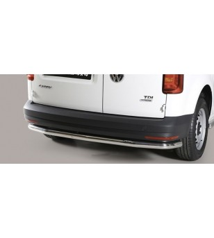Caddy 15- Rear Protection Inox - PP1/235/IX - Rearbar / Opstap - Unspecified - Verstralershop