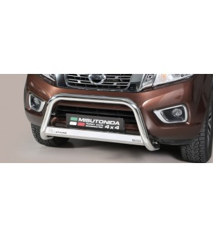 Navara NP 300 16- EC Approved Medium Bar Inox - EC/MED/400/IX - Bullbar / Lightbar / Bumperbar - Verstralershop