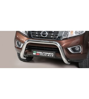Navara NP 300 16- EC Approved Super Bar Inox - EC/SB/400/IX - Bullbar / Lightbar / Bumperbar - Verstralershop