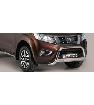 Navara NP 300 16- Medium Bar Inox - MED/400/IX - Bullbar / Lightbar / Bumperbar - Unspecified